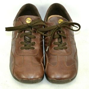 Footprints By Birkenstock Leather Oxford Shoes Uni